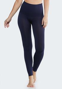Plus Extended The Perfect Navy Shaping Leggings