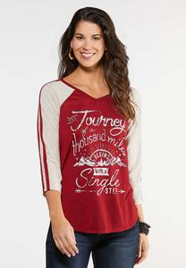 Journey Raglan Top