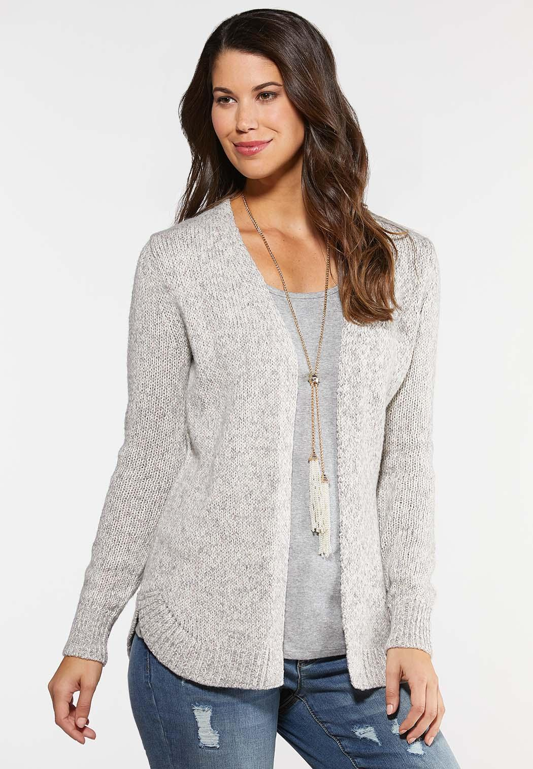 Multi Cable Knit Cardigan