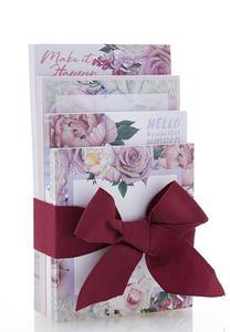 Floral Memo Pad Set