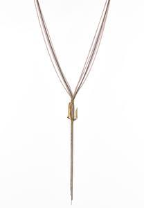 Glass Multi Chain Necklace