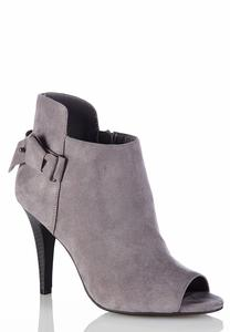 Side Knot Peeptoe Shooties