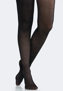 Plus Size Floral Vine Tights