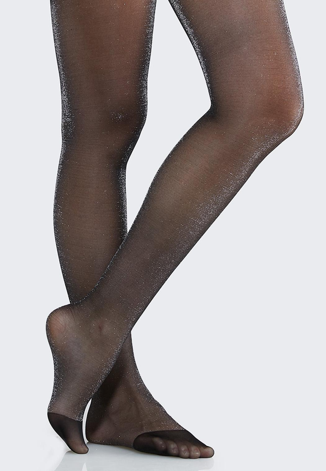 Plus Size Sparkle Shimmer Tights