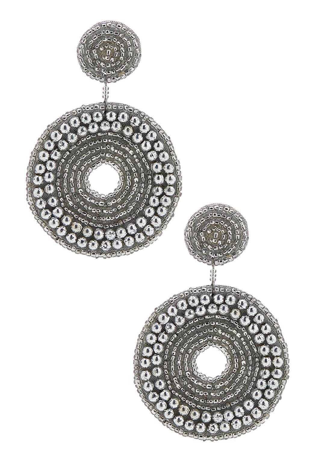 Statement Seed Bead Earrings