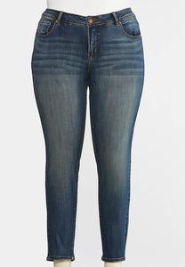 Plus Size Slimming Skinny Jeans