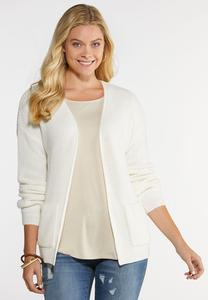 Front Pocket Cardigan Sweater