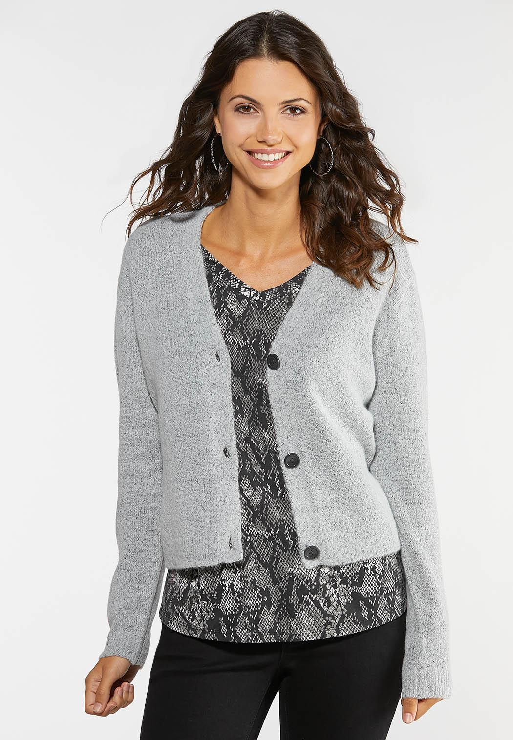 Plus Size Skimmer Cardigan Sweater