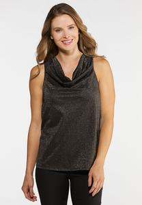 Dazzling Draped Top