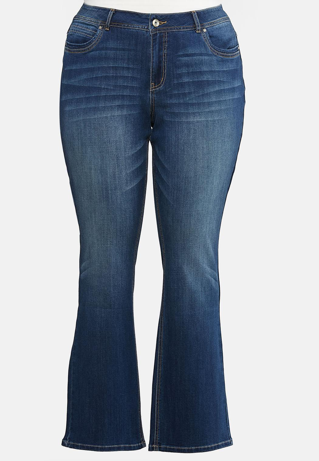 Plus Extended Bootcut Jeans