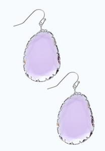Faceted Dangle Earrings