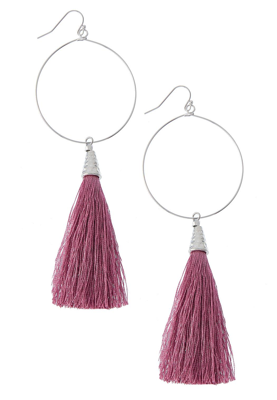 Mod Tassel Earrings