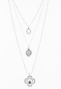 Moroccan Three Tier Necklace