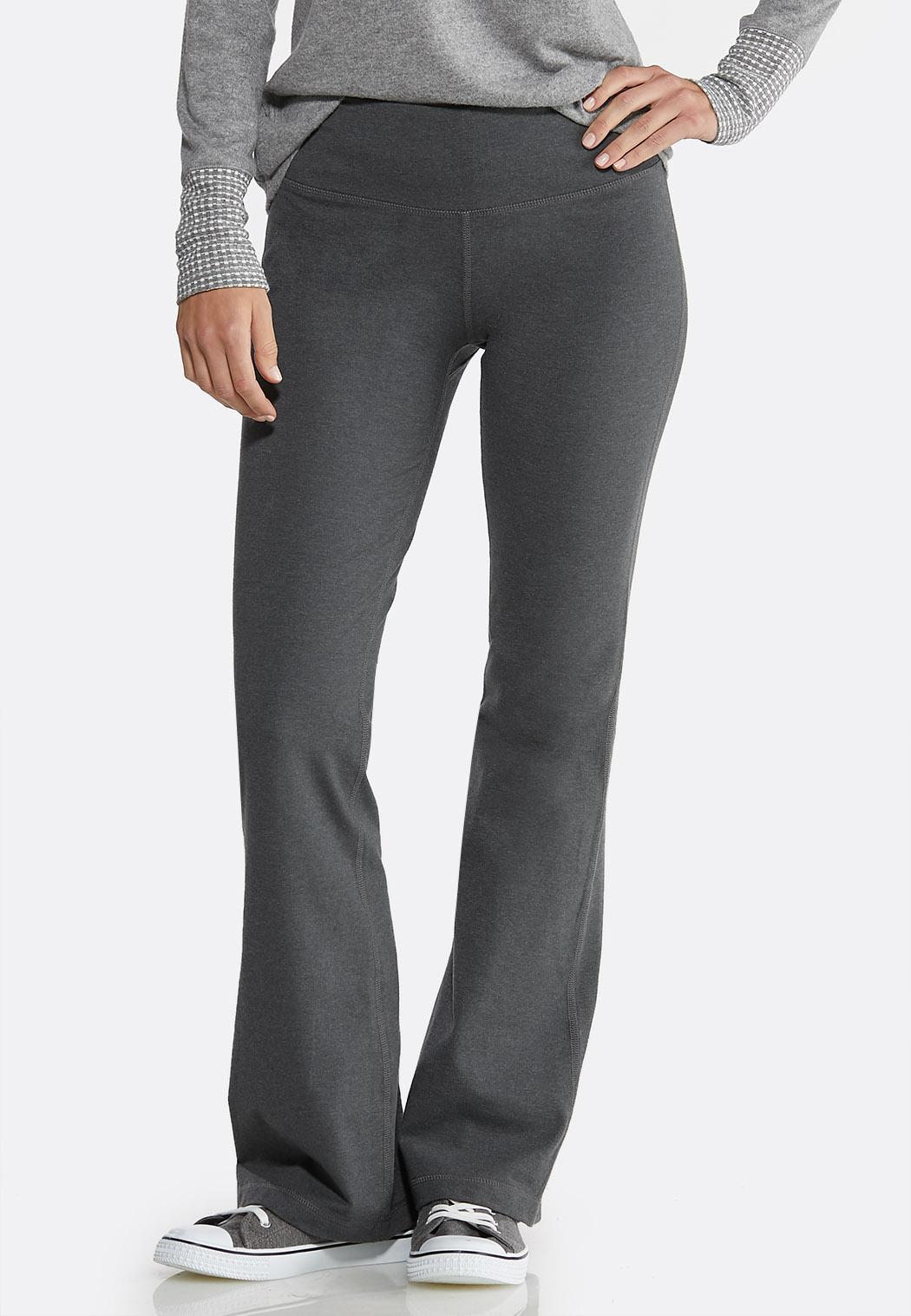 Charcoal Yoga Pants