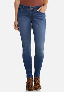 Petite Medium Wash Jeggings