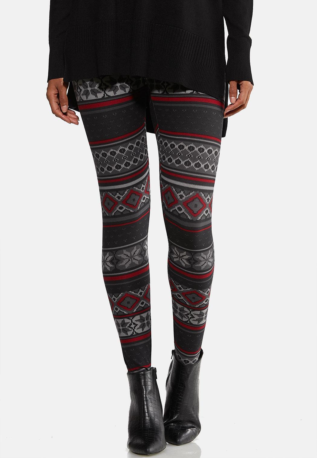 Festive Knit Leggings