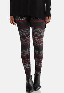Festive Knit Leggings
