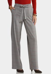 Menswear Windowpane Pants