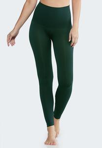 The Perfect Green Shaping Leggings