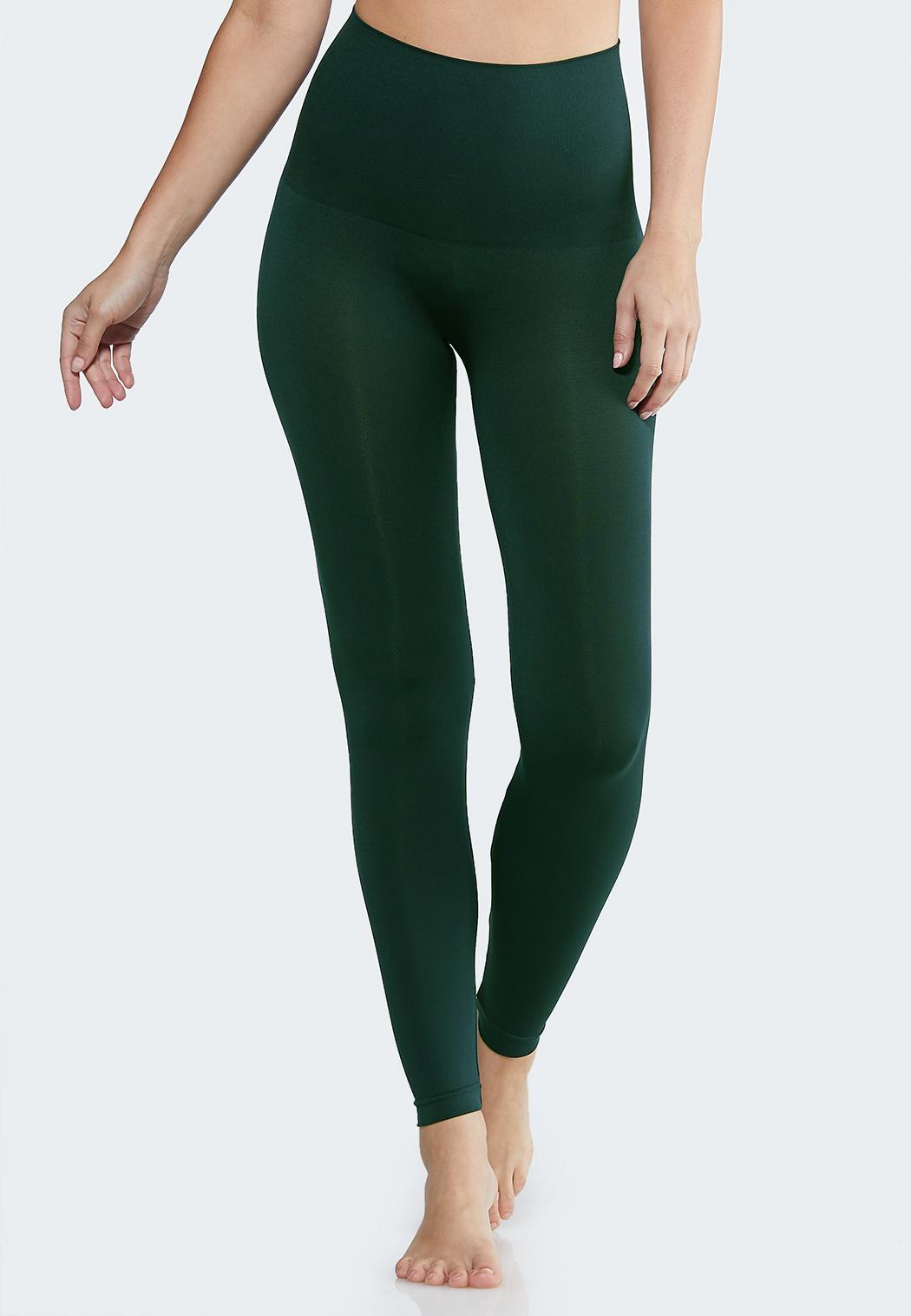 Plus Size The Perfect Green Shaping Leggings
