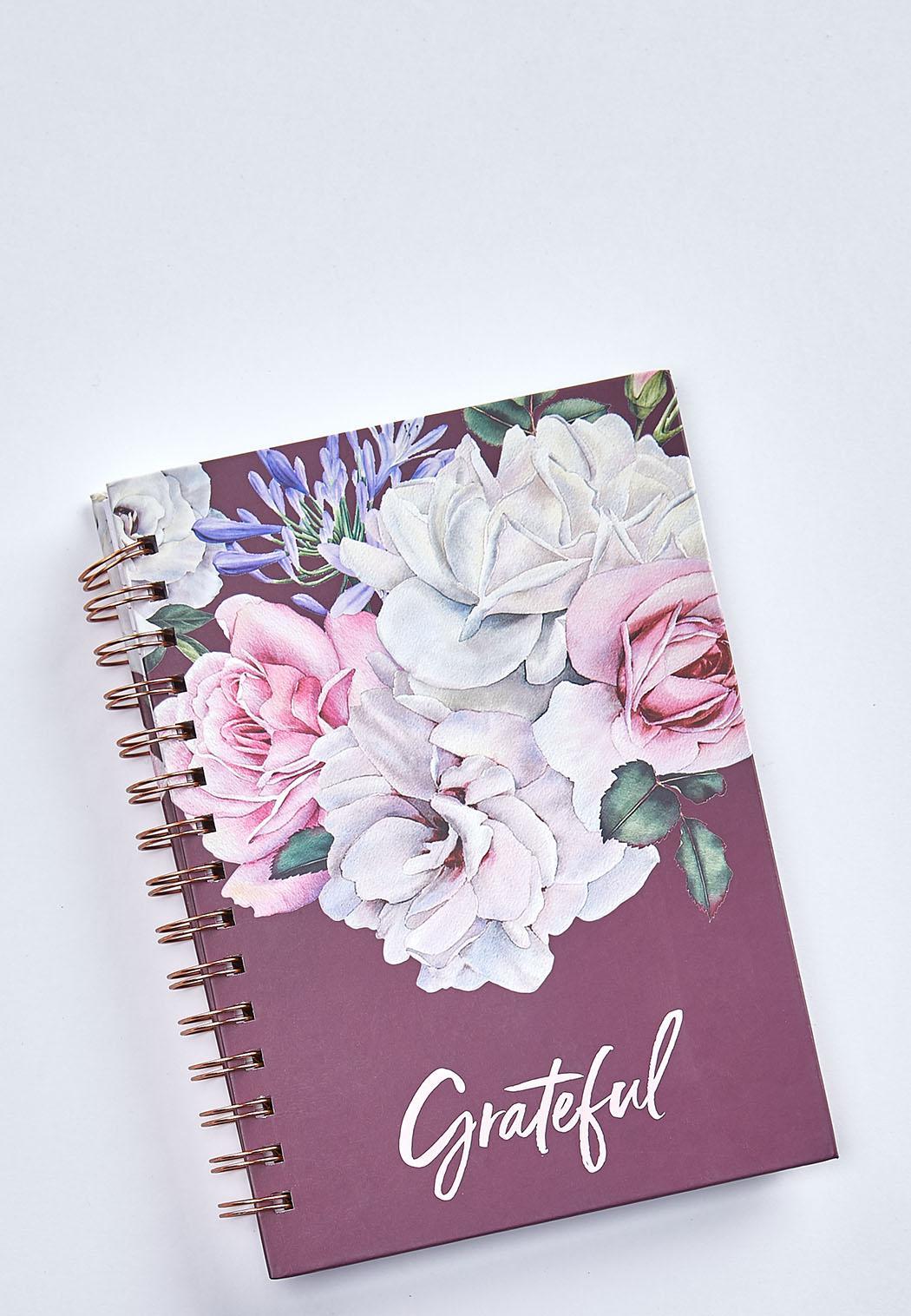 Grateful Floral Notebook