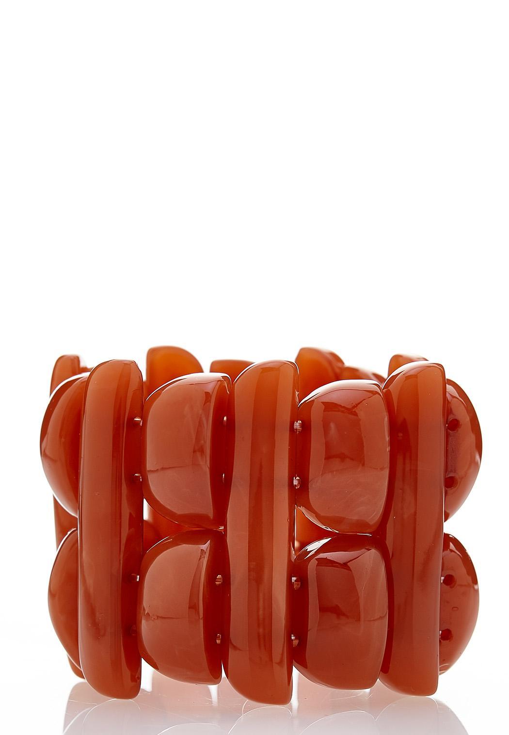 Chunky Resin Stretch Bracelet