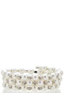 Glam Coil Stretch Bracelet