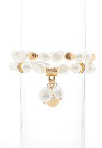 Pearl Stretch Bracelet Set