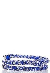 Crystal Coil Bracelet