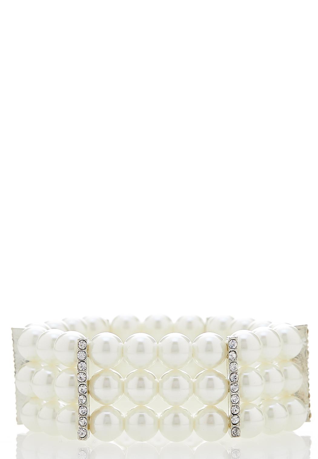 Vintage Glam Stretch Bracelet