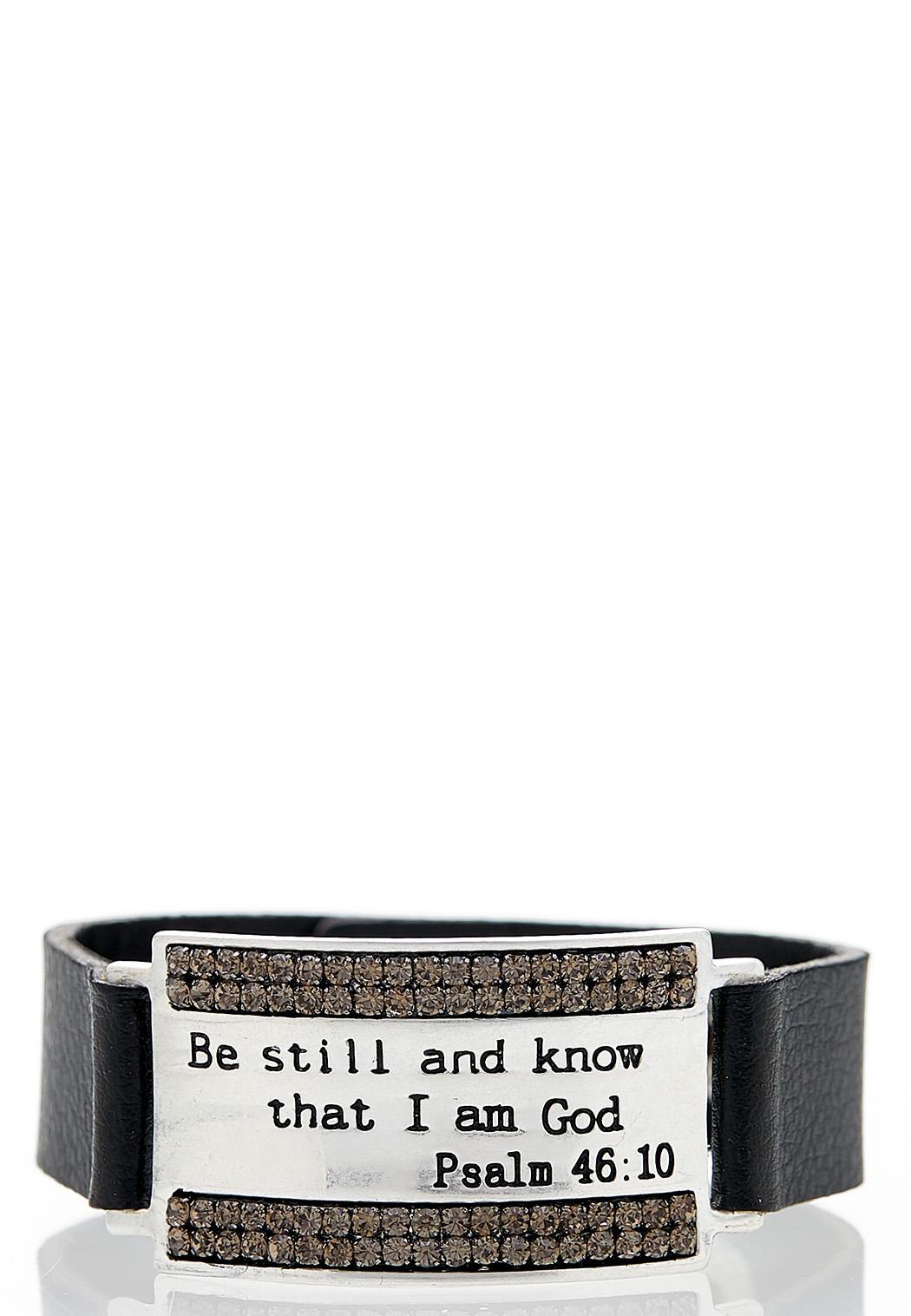 Be Still Snap Bracelet