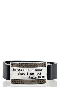 Be Still Snap Bracelet