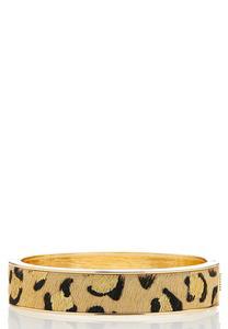 Metallic Animal Bangle Bracelet