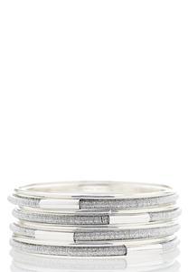 XL Thread Wrapped Bangle Bracelet