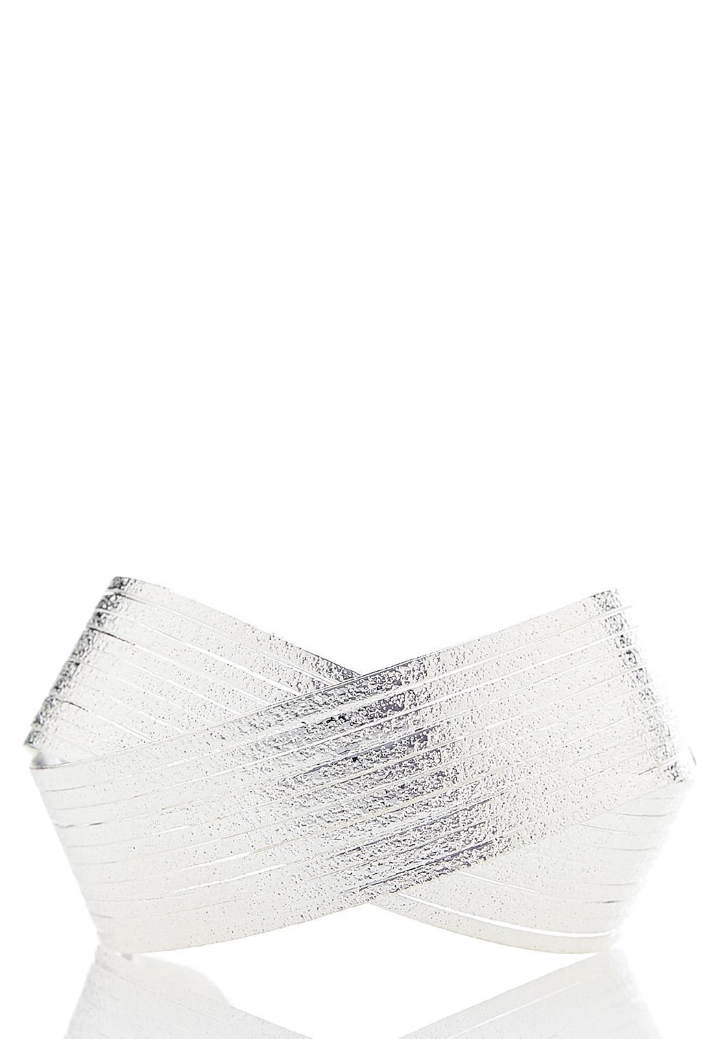 Silver Statement Cuff Bracelet