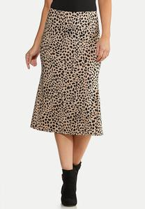 Cheetah Slip Skirt
