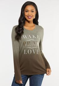 Wake Pray Love Tee