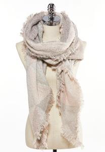 Sequin Detail Blanket Scarf