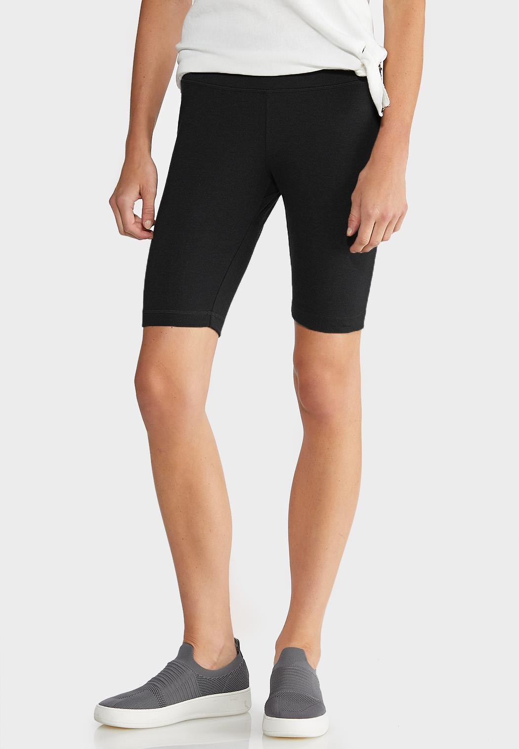 Black Stretch Shorts