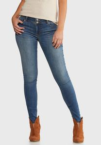 Petite Sandblast Wash Jeggings