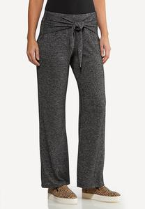 Tie Front Hacci Pants