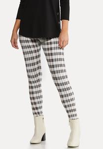 Pretty Plaid Leggings