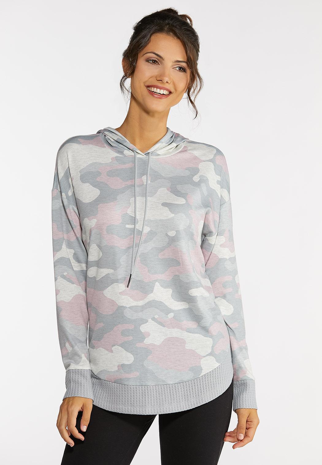 Blush Camo Sweatshirt