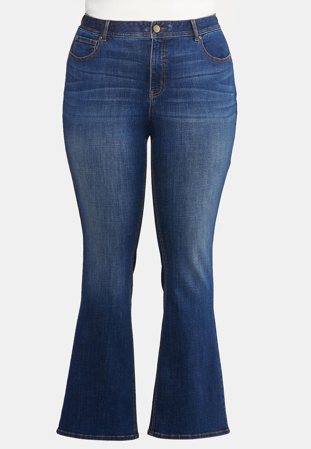 Plus Petite The Perfect Bootcut Jeans