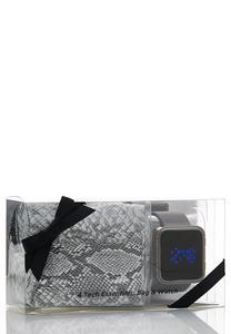 Digital Watch Gift Set