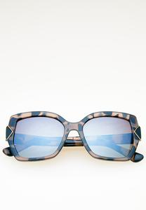 Tortoise Statement Sunglasses
