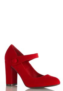 Wide Width Mary Jane Pumps