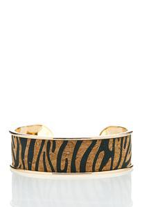Leopard Cork Cuff
