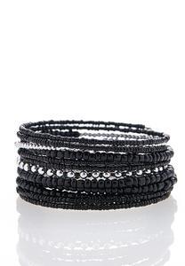 Black Seed Bead Bracelet