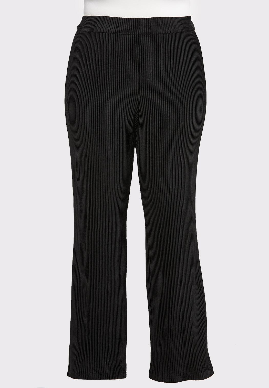 Plus Size Flare Leg Corduroy Pants Pants Cato Fashions